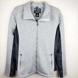 KUHL Projekt Kestrel Knit Zip Up Jacket Gray